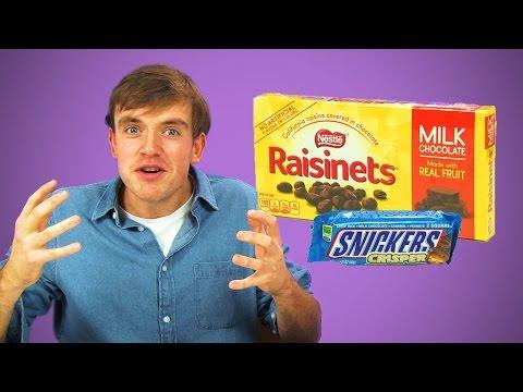 Irish People Taste Test American Chocolate Treats