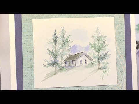 Art Impressions New Watercolor Stamps Day 2 - Paper Wishes Weekly Webisodes