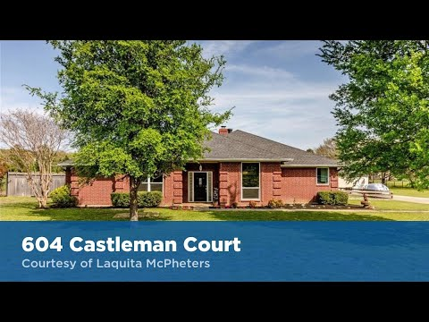 604 Castleman Court Keller, Texas 76248 | JP & Associates Realtors | Find Homes For Sale