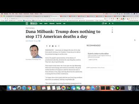 Drug Deaths Up To 175 Per Day In The US