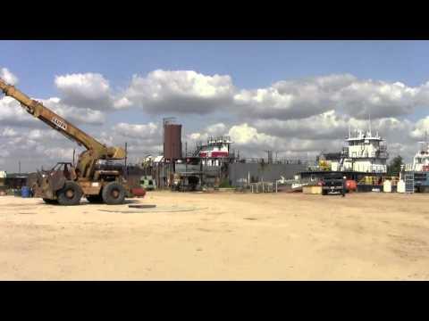 WorkBoat Tours A&B Industries' Yard