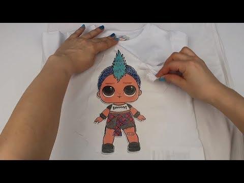 Lol Sürpriz Erkek Bebek Tşört Yaptım Oioi Bu Bir Punk Boi Lol
