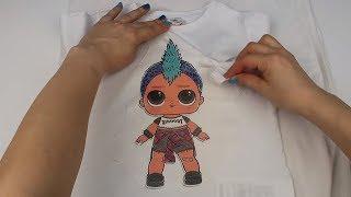 LOL Sürpriz Erkek Bebek Tşört Yaptım OiOi Bu bir Punk Boi LOL Confetti Pop Wave 2Boy Bidünya Oyuncak