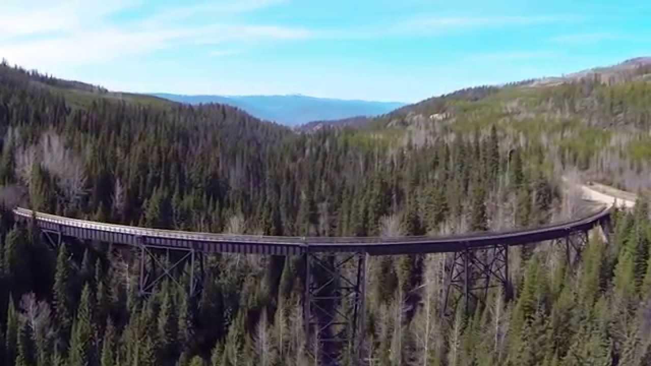 Kelowna Bc Canada >> 17 Myra - Bellevue Trestle Bridge - YouTube