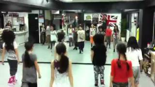Christina Aguilera BOBBLEHEAD dance Studio K-RUSH ASAMI cla