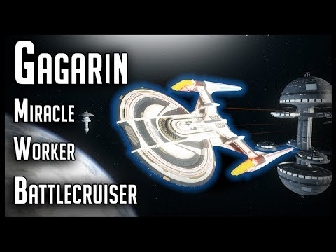 Gagarin Miracle Worker Battlecruiser [T6] – Star Trek Online