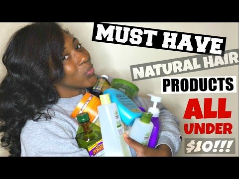 MUST HAVE Curly/ Natural Hair Products | ALL UNDER $10 | for All Hair Types