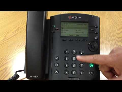 Consulted Transfer On VVX 300 - YouTube