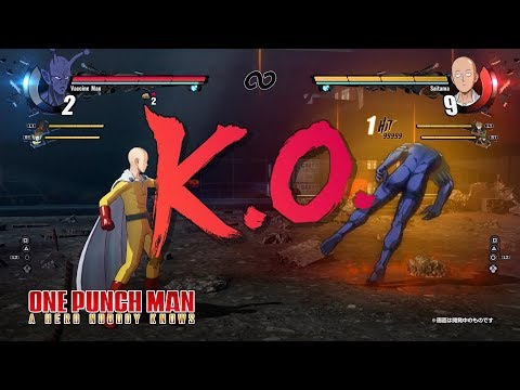PS4/Xbox One「ONE PUNCH MAN A HERO NOBODY KNOWS」ローンチPV