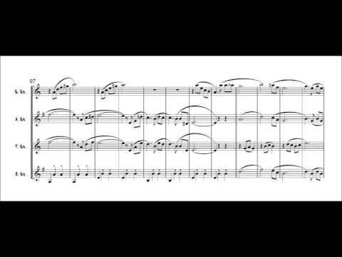 Godfather themes for Saxophone quartet