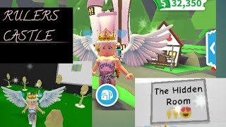 AMAZING RULERS CASTLE ADOPT ME ROBLOX 🏰 ❤