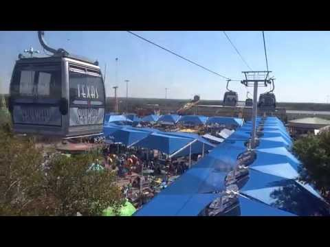 Midway filmed from the Texas Skyway at the State Fair of Texas