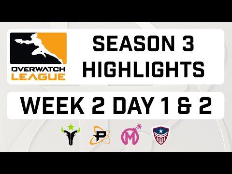 Overwatch League Season 3 Week 2 Highlights