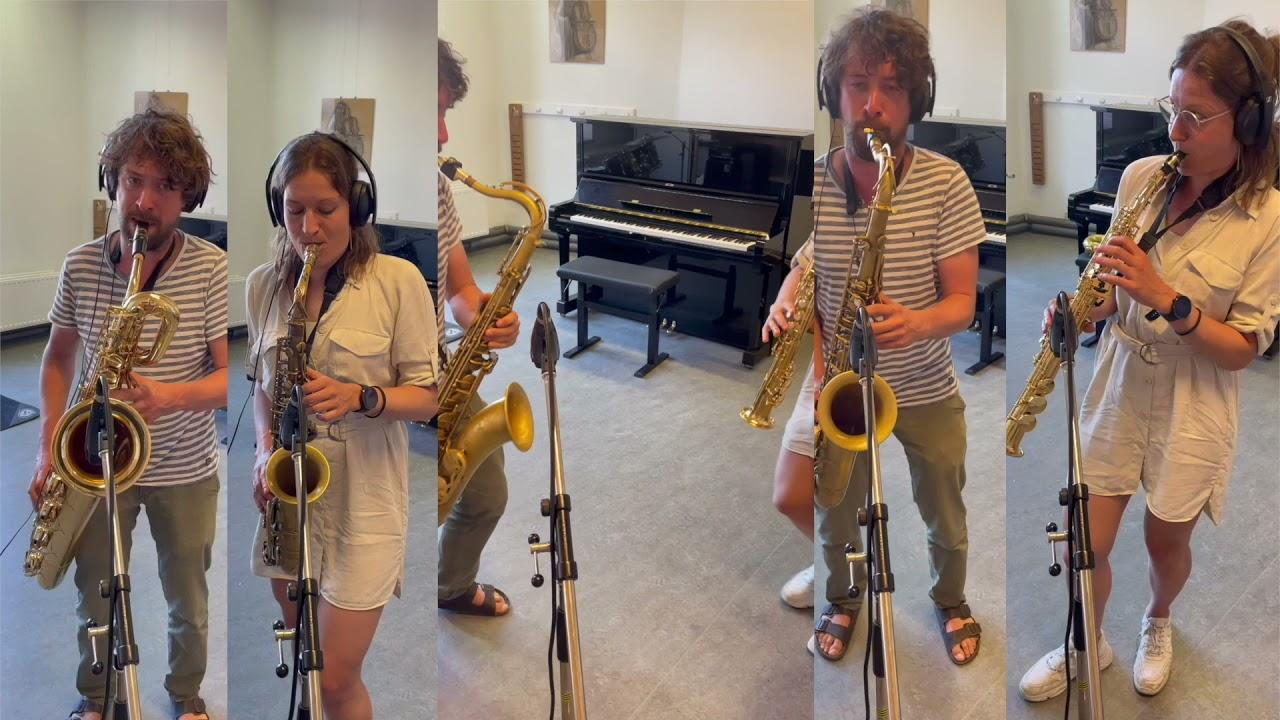Saxofoon jazz-pop-rock