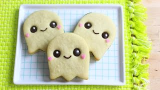 How to Make Halloween Ghost Cookies!