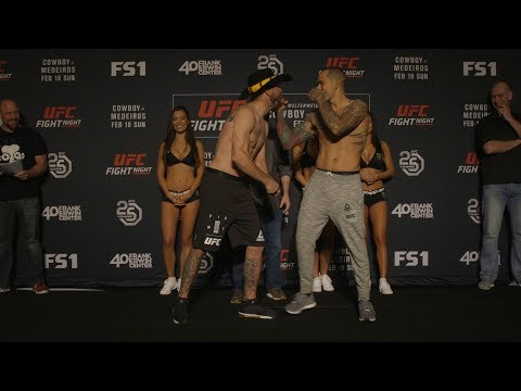 Fight Night Austin: Weigh-in Faceoffs