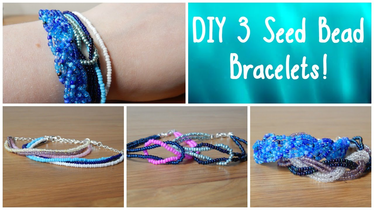 tutorial bead glass necklace for watch wire crystal video youtube bracelet making beads