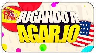 Agario  Live 2 0 - Super adictivo  casi entramos en el TOP!! - Random video