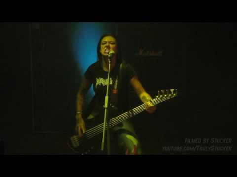 Nervosa - Failed System (Live in St.Petersburg, Russia, 21.10.2016) FULL HD