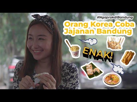 Jajanan Bandung Paling ENAK Part 2!   Ngaprak di Bandung with Neng Cindy
