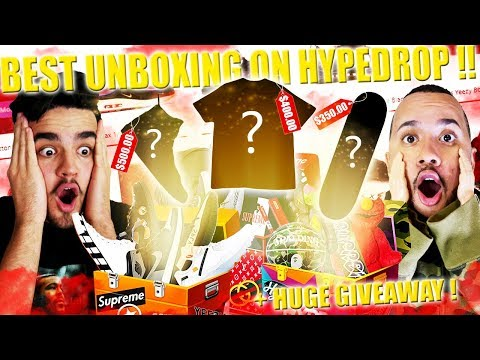 BEST HYPEDROP UNBOXING YET!! OPENING ONLINE HYPEBEAST MYSTERY BOXES!! 2 SUPREME BOX LOGO PULLS!!