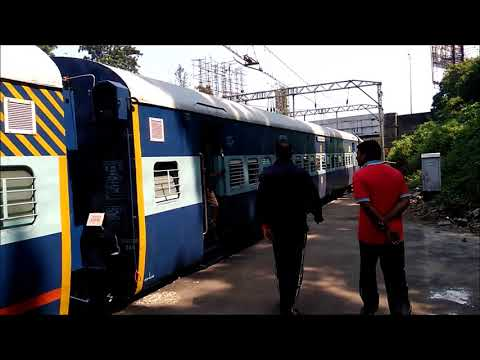 MUCH AWAITED| 22152 KAZIPET PUNE WEEKELY SF EXP| INDIAN RAILWAYS