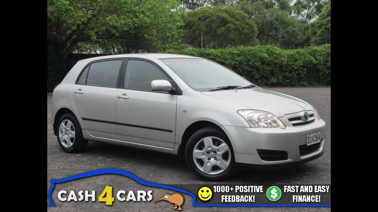 2007 toyota corolla gl nz new auto hatchback cash4cars sold youtube