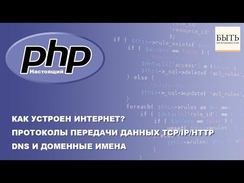 Как устроен интернет? Протоколы передачи данных TCP/IP/HTTP. DNS и Доменные имена