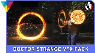 HitFilm Express tutorial: Doctor Strange portal and magic shield mandala effect | Film Masters
