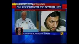 'I carry matchbox on flight, I am not frisked', Aviation minister Ashok Gajapathi Raju boasts