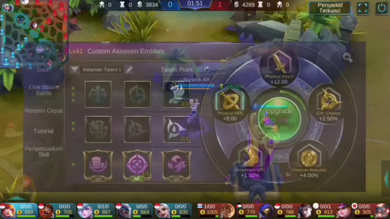 FANNY EPIC SOLO RANK BY NANANK AR MOBILE LEGEND INDONESIA