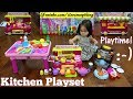 Little Kids' Kitchen Playset Playtime Fun! A Food Truck Toy, Food Seller Pretend Play and More!