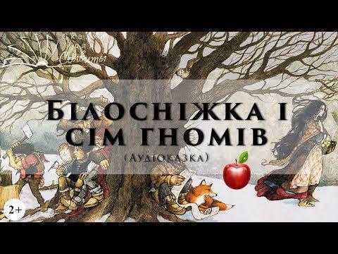 Білосніжка і сім гномів | Аудіоказки з картинками | Брати Грімм | Казки для дітей
