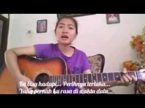 KECUALI KAMU - KOTAK || Cover Gitar By Nurindah Fatyka Sari( Flashback)