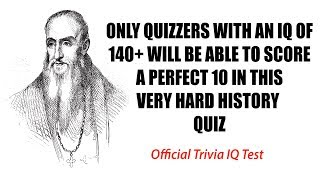 You must be very intelligent to be able to score a 10 - Official Test