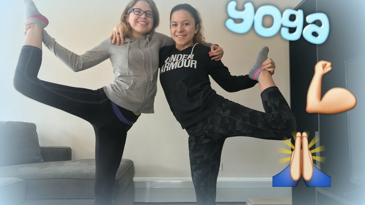 Extreme Yoga Challenge *FAIL*   Kayla Espiritu - YouTube