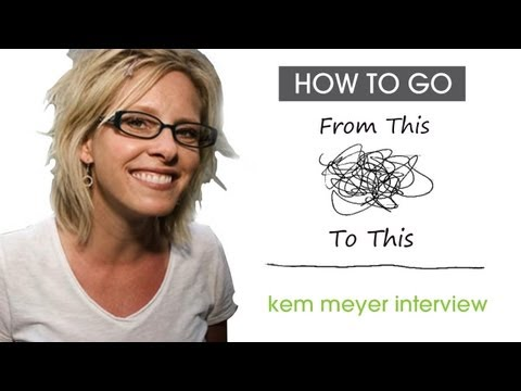 Kem Meyer Interview | Less Clutter. Less Noise. In Church Communications