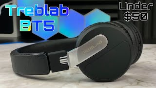 Treblab BT5 Wireless headphones Review - Great pair under $50
