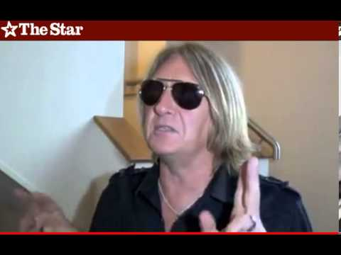Viva! Hysteria with Def Leppard's Joe Elliott Out & About - Interview by the Sheffield Star
