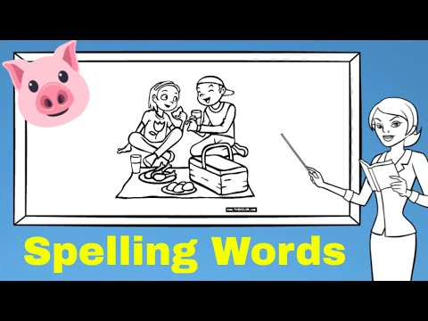 Lesson 1 SPELLING WORDS