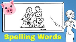 Lesson 1 SPELLING WORDS [Elementary School]