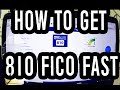 810 Fico Score Fast || How I Fixed My Cr