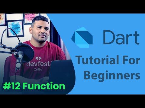 Function in Dart - #12 Dart Programming Tutorial for Beginners