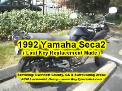 Yamaha Lost Keys To Motorcycle