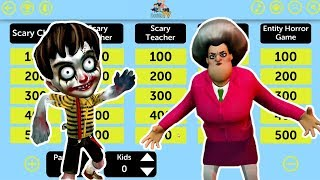 Scary Horror Game Trivia - Scary Child 3D - Scary Teacher 3D - Scary Butcher 3D