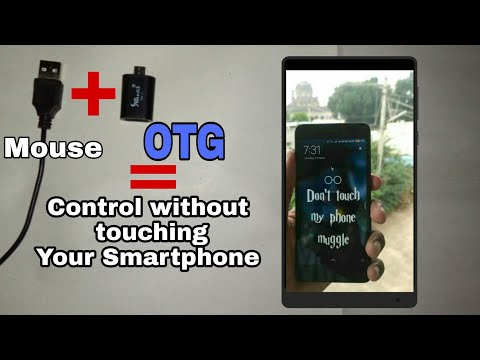 [OTG + MOUSE] CONTROL YOUR SMARTPHONE WITH HELP OF [OTG & MOUSE]