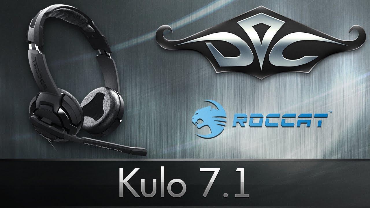 Обзор Roccat Kulo 7.1. Антикризисный вариант?