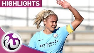 Sunderland 0 - 3 Man City | Houghton makes 100th Appearance in Comfortable Win | FA WSL Highlights