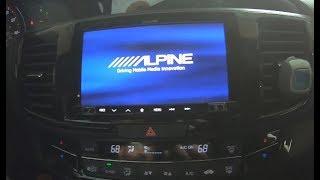 Honda Accord Stereo Upgrade   Part 1 Alpine Apple Carplay w Metra Dashkit and  nterface