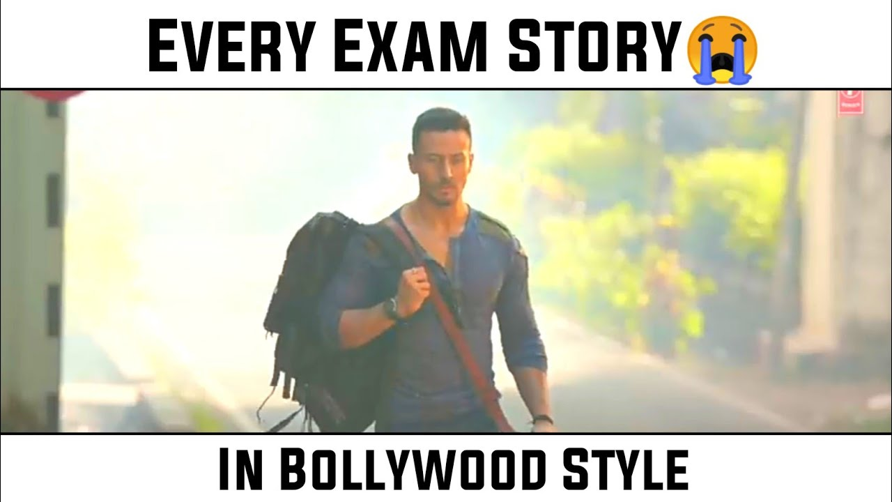 Every Exam Story 😭 😭 || In Bollywood Style || Bollywood Song Vine ||